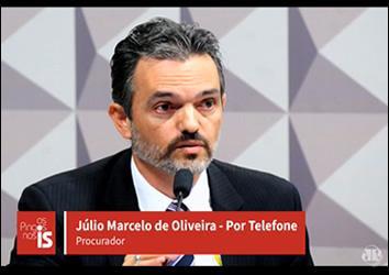 Com corrupções em Tribunal de Contas, procurador Júlio Marcelo fala em acabar com indicação política