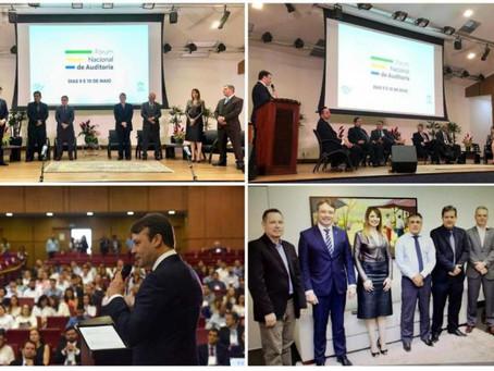 AMPCON e CNPGC participam da abertura do Fórum Nacional de Auditoria em Goiânia/GO