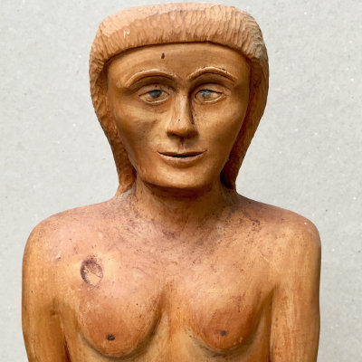 Tall Carved Folk Art Figure
