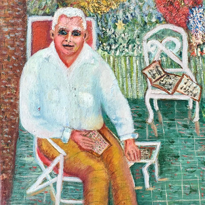 Blanche Wille Painting 1956
