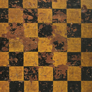 Handsome Mustard and Black Game Board