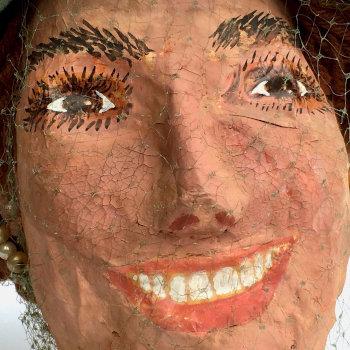1960s Papier Mache Bust of Jackie Kennedy (?)