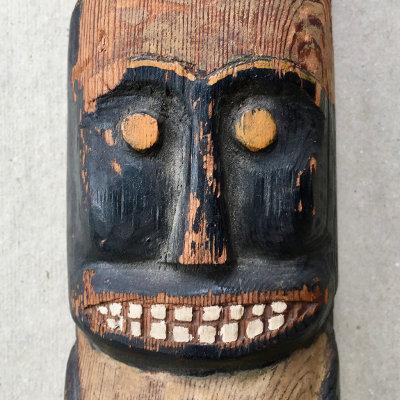 Northwest Style Folk Art Totem