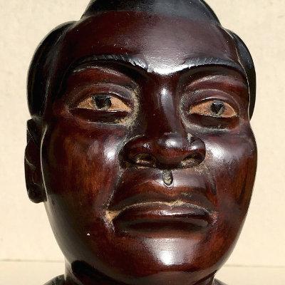 Handsome Carved Bust