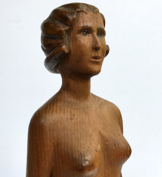 Stylish Carved Nude from the Midwest