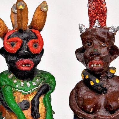 Bessie Harvey Outsider Art Figures