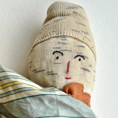 Graphic Erotic Knit Dolls
