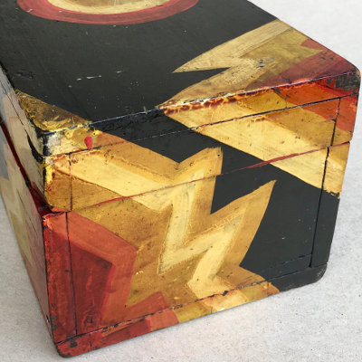 Boldly Painted Deco-Era Box