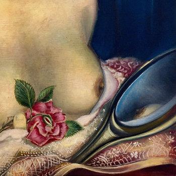 Italian Immigrant's Erotic Beauty Painting