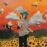 MOLLY CHRAMPANIS_Flower Boy_oil on canva