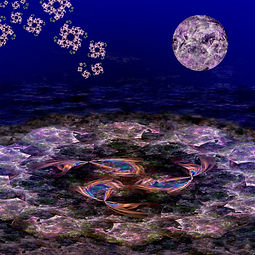 Under a Fractal Moon 2 - Jodi DiLiberto.