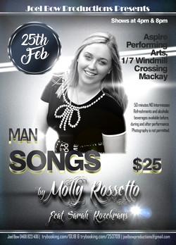 Man Songs Flyer Facebook