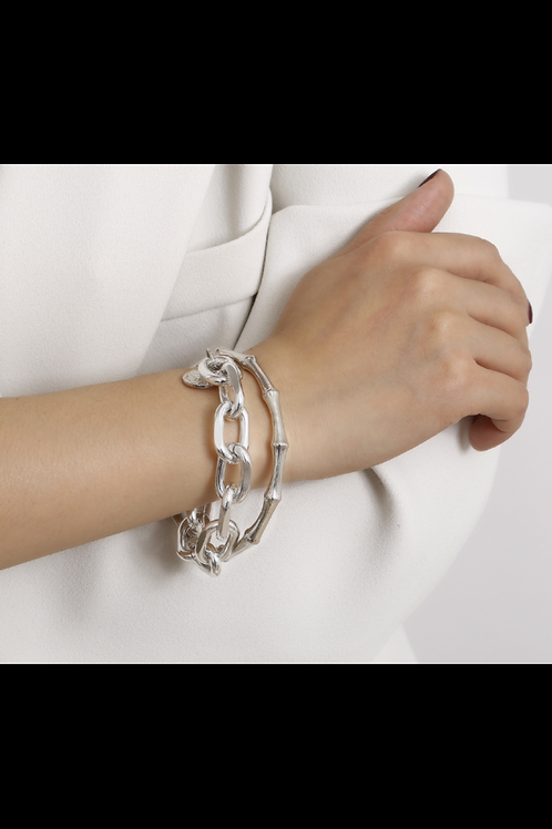 Silver Chain Link