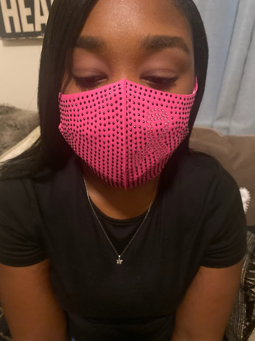 Breast Cancer Awareness Face Mask (Pink)