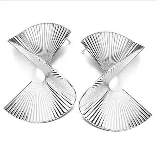 Silver Yonce Earrings
