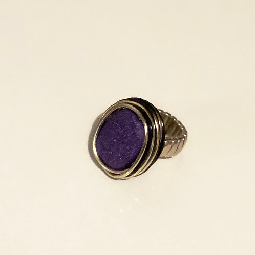 Purple Stunner Ring