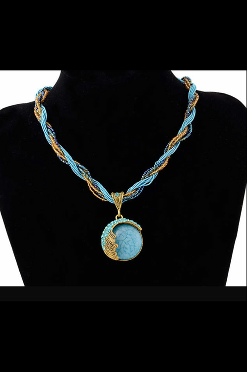 Mystic Blue Necklace