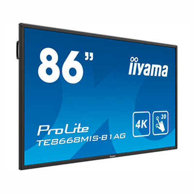 "TE8668MIS-B1AG  86"" Táctil Android 4K"