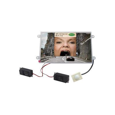 "AD DISPLAY 10"" Open Frame Player y Sensor"