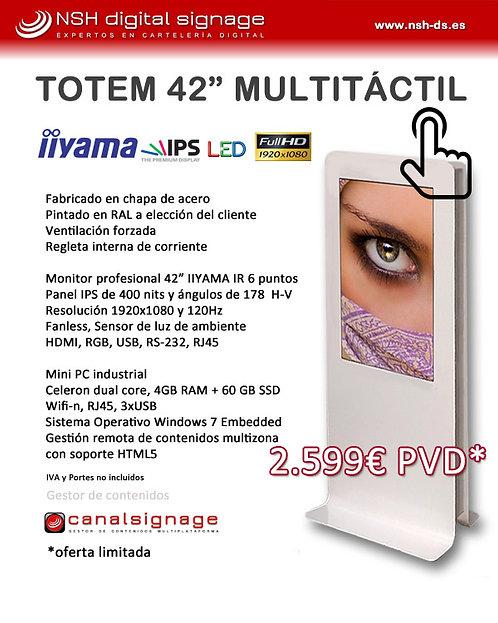 "PROMO Totem 42"" MULTI TÁCTIL Indoor"