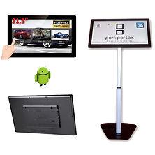touch table, atril, mesa táctil, catálogo interactivo
