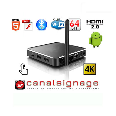 Android Box Player 7- OctaCore 64 bits HID
