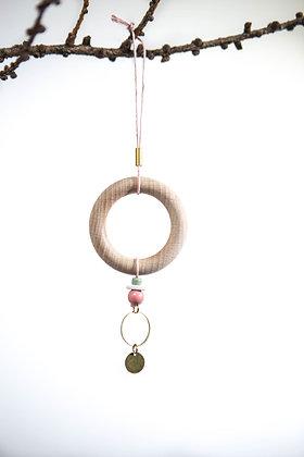 """Hanger """"Wooden Ring"""" 03"""