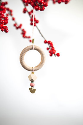 """Hanger """"Wooden Ring"""" 01"""
