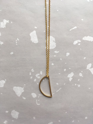 "Goldkette Necklace ""Moon"""