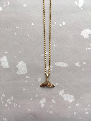 """Goldkette Necklace """"Fins"""""""