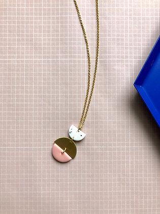 """Necklace Poly-Brass """"Malie"""""""