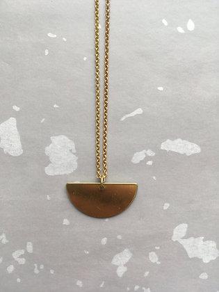 """Goldkette Necklace """"Semicircle"""""""