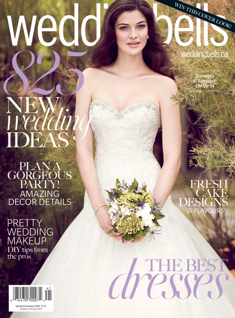 Wedding Bells Magazine Feature - Spring / Summer 2014