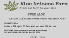 PURE ALOE - INNER FILET (blended)
