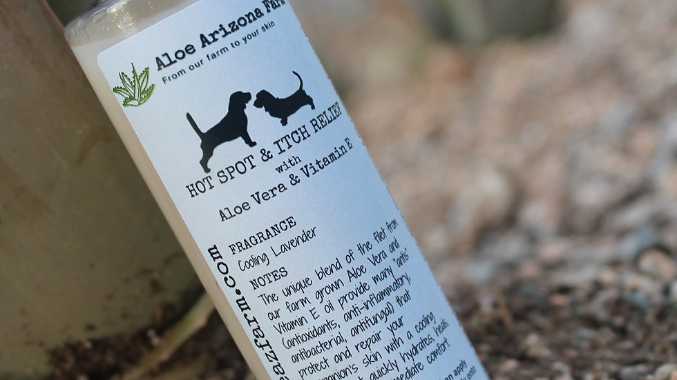 Hot Spot & Itch Relief Serum for Pets