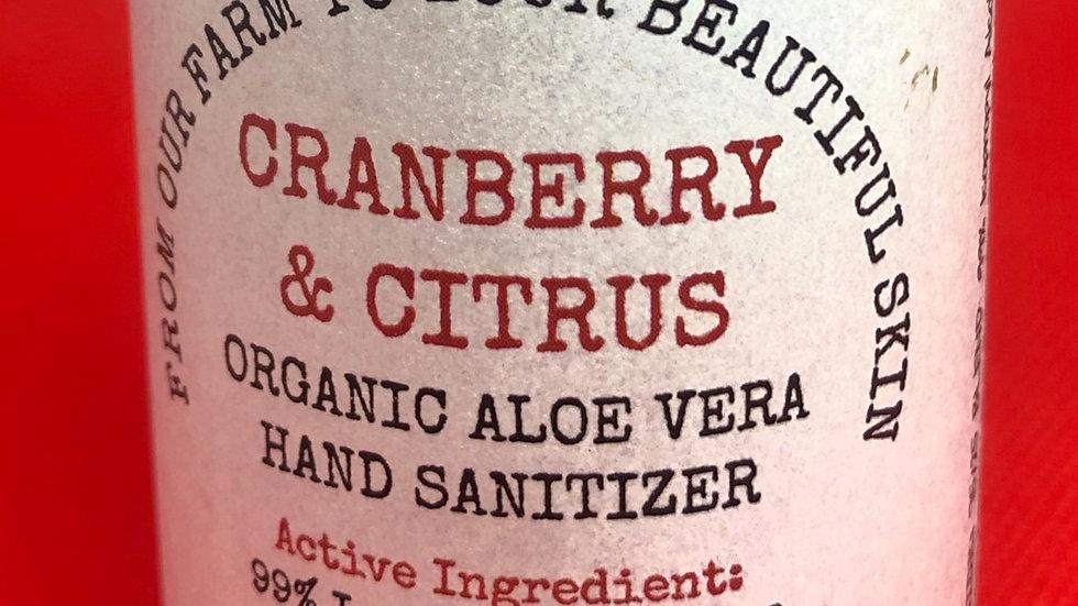 Hand Sanitizer -  Cranberry & Citrus