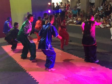 Apresentação Kung Fu