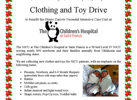 Clothing and Toy Drive