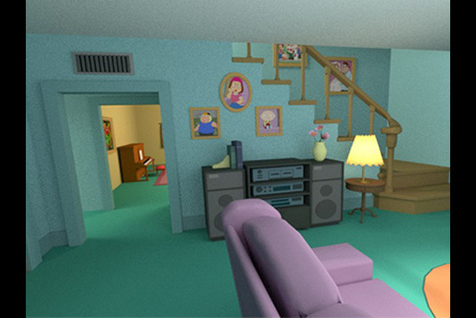 Family Guy Living Room