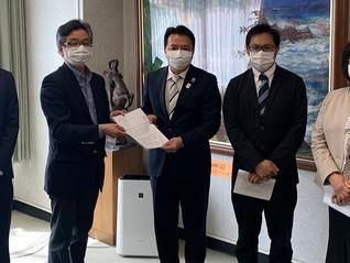 新型コロナウイルス感染拡防止策など緊急申し入れ