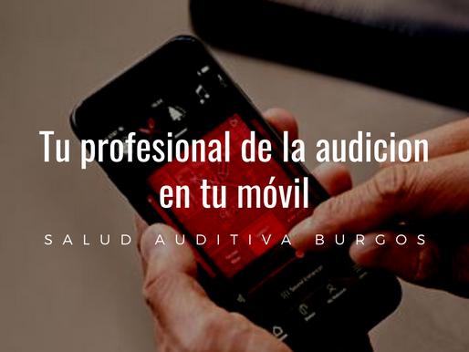 Tu profesional de la audición en tu móvil