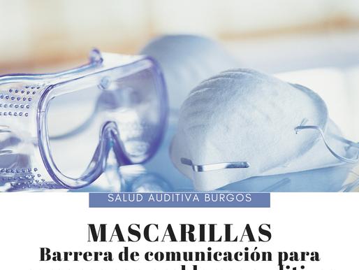 Mascarillas, barreras de comunicación para personas con problemas auditivos