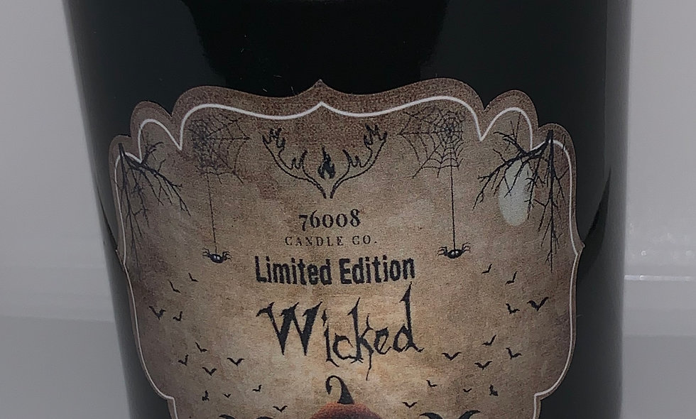 """Limited Edition Halloween Candle """"Wicked"""""""
