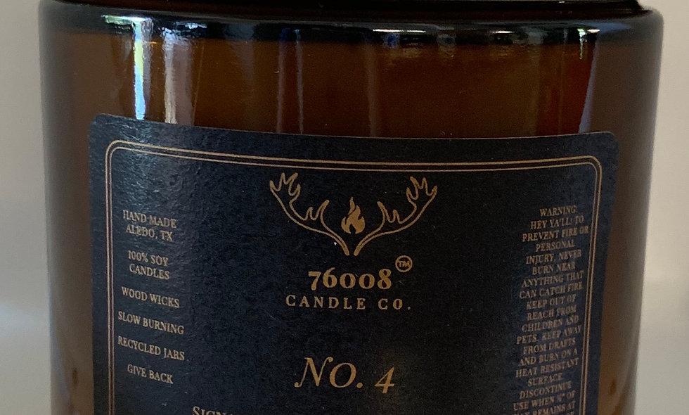 16 oz. No. 3 Lavender + Teak Bamboo
