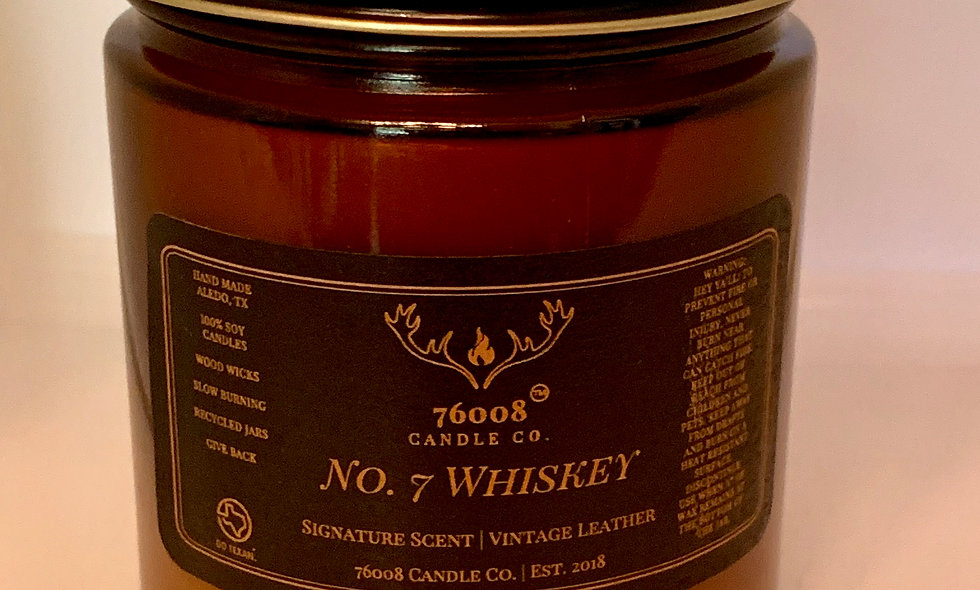 "8 oz. No.7 ""Whiskey"""