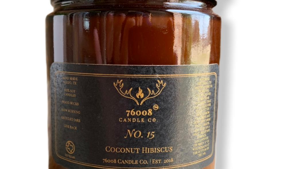 8 oz. No. 15 Coconut Hibiscus