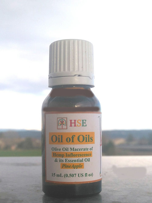 "Oil of Oils ""PineApple"" - 15mL (CBD+)"