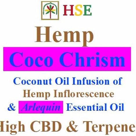 "20 oz - High CBD & Terpenes Coco Chrism ""Arlequin"""