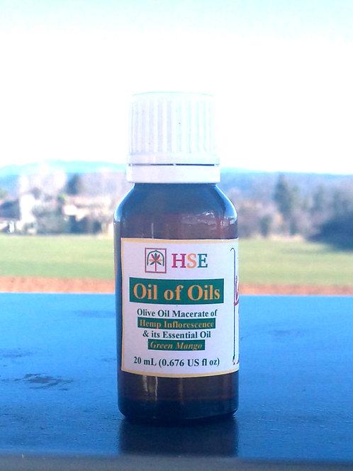 "Oil of Oils ""Green Mango"" - 20mL (CBD)"