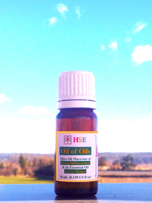"Oil of Oils ""Green Mango"" - 10mL (CBD)"